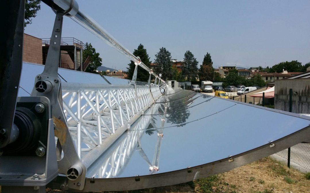 Rinnovabili, l'integrazione tra energia solare e biomasse si sperimenta a Pomarance
